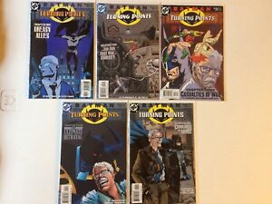 Batman comics (turning point #1-5 set)