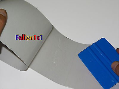Lackschutzfolie selbstklebend transparent 200cmx12 cm (350µm dick)  3M + Rakel