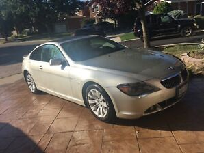 2004 bmw 645ci as is