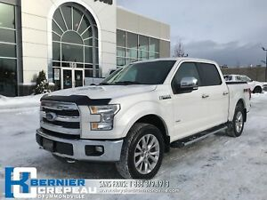 2016 Ford F-150 Lariat **FULL ÉQUIPE, TOIT PANO, GPS, CUIR**