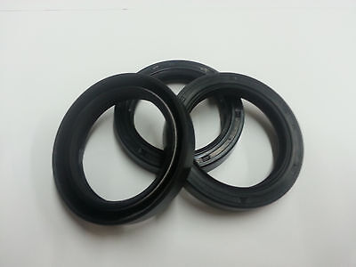Oil Seal Metric Nbr Double Lip Style Tc 55x85x12mm