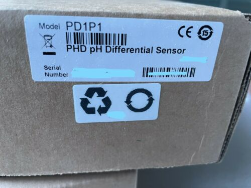New Hach PD1P1 PHD pH Differential Sensor