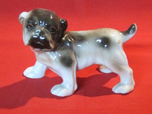 Vintage porcelain Bulldog  dog figurine
