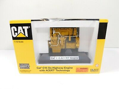 2005 Caterpillar CAT C15 ACERT Engine Norscot 55139 1/12 Scale Diecast in Box