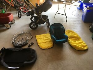 Bugaboo stroller + accessories