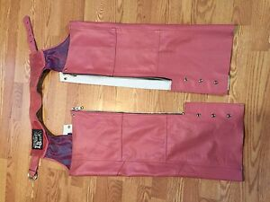 Lady's leather chaps