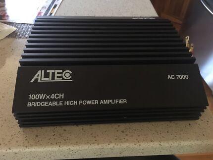 ALTEC High Power Bridgeable Car Amplifier