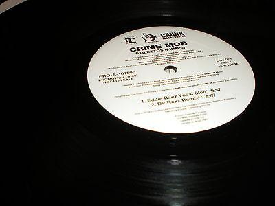 Crime Mob Stilettos (Pumps) DBL VINYL Eddie Baez L.E.X. Dave Aude DJ Pierre more