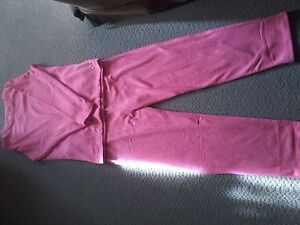 Ladie's sz.small brand new pink fleece track suit asking $ 15.00