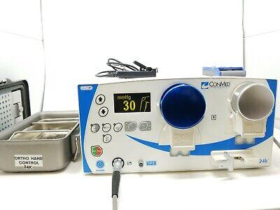 Conmed Linvatec 24k Arthroscopy Pump C8115 Remote 24k900 Shaver Sensor