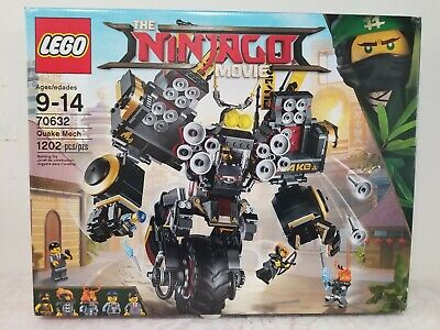 LEGO Ninjago Movie Quake Mech (70632) Retired NEW SEALED NIB