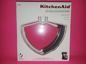 KFEW6L KITCHEN AID 6 QT. BOWL-LIFT FLEX EDGE BEATER~BRAND NEW~BUY IT NOW~$21.88