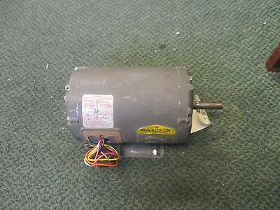 Baldor Industrial Motor M3546 1hp 1725rpm 208-230460v 3.7-3.41.7 Used