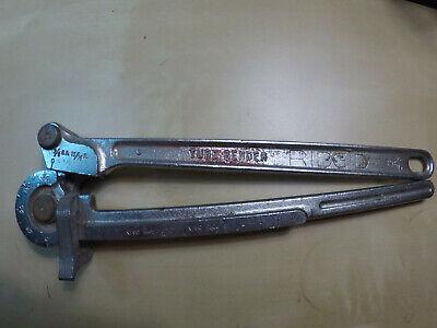 Ridgid Tube Tubing Pipe Bender 396 38 Od 1516 R Made In Usa