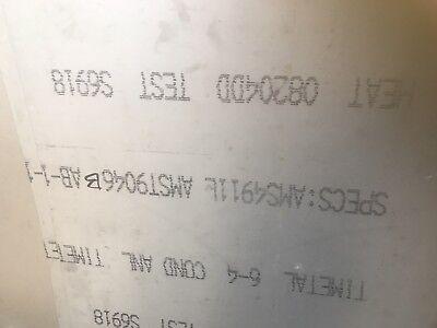 """Titanium Sheet MILL TIMET 6AL-4V .025 X 12/"""" X 12/"""""""
