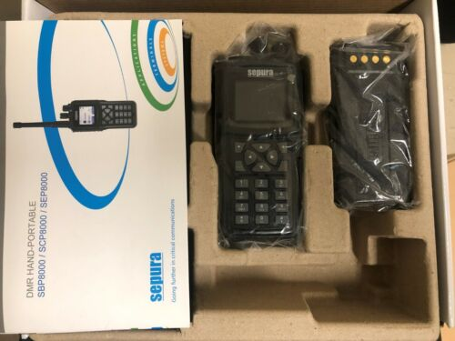 Sepura DMR Handheld Radio SEP8040