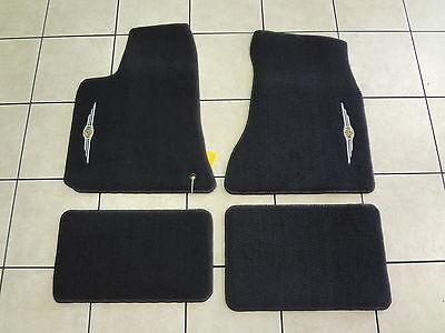 05-10 Chrysler 300 New Premium Carpet Floor Mats Set of 4 Dark Slate Mopar -