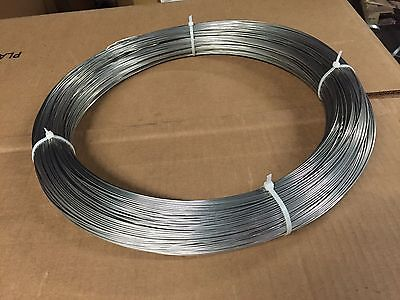 18 Gauge Stainless Steel T-304 Tie Wire 5 Lb Coil