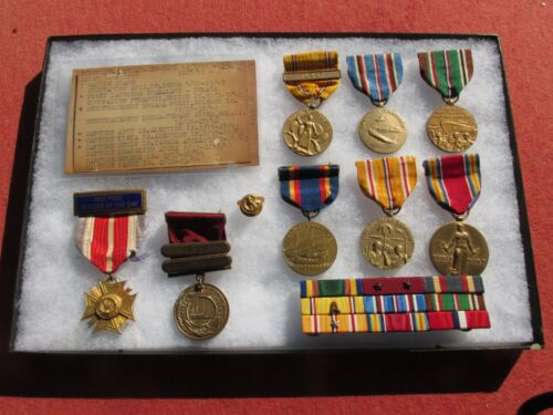 Named Pre WWII / WWII U.S. Navy Yangtze Service Medal Group