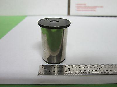 Vintage Leitz Germany Eyepiece Microscope Optics Binn1-14