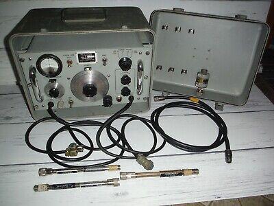 Rf Power Test Set Ts-1776ausm-161 115vac 50-1000 Hz -military Meter