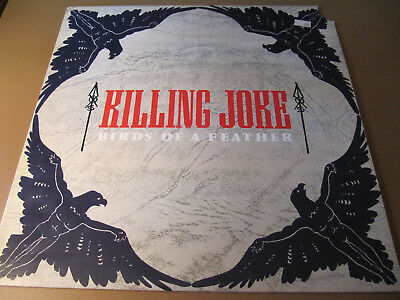 "Killing Joke Birds Of A Feather US PROMO 12"" vinyl single record EGOX 10  CUTOUT"