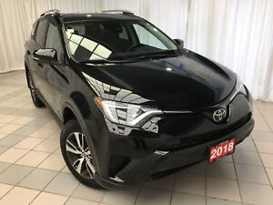 2018 Toyota RAV4 LE: low kms