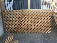 Cedar lattice 1 ( 4x8' sheets) | Decks & Fences ...