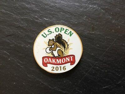 2016 US OPEN OAKMONT Logo GOLF BALL MARKER New Flat DUSTIN JOHNSON