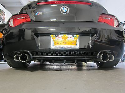 BMW Z4 Z4M Roadster Custom Bolt On Rear Diffuser s4play
