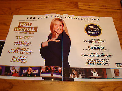 Full Frontal With Samantha Bee Emmy Ad With Barack Obama  Nasty Woman  Blouse