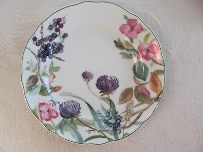 Charter Club Wild Flowers -Flowers & Fruit - Salad/Luncheon Plate(s)- 10 Avail