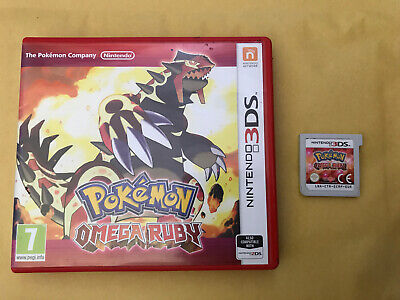 Pokémon Omega Ruby 3DS boxed PAL