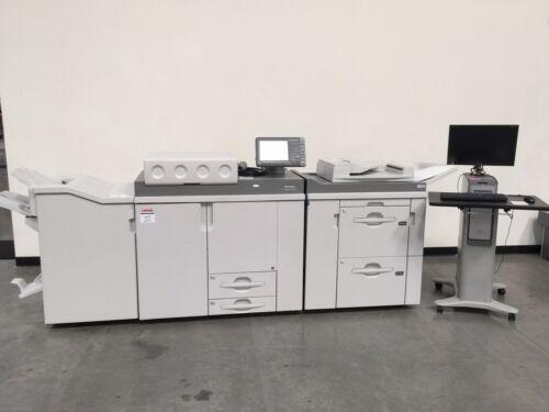 Ricoh ProC901S C901 C901S color copier - Only 2.2 mil copies - 90 ppm color