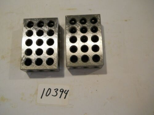 1 2 3 BLOCKS PRECISION BLOCK SETS 2 PIECES SET NEW PICTURE #10394