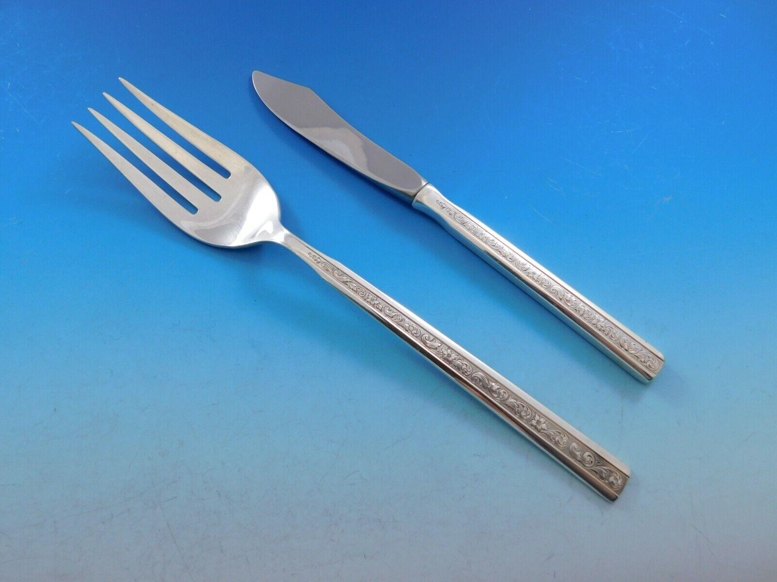 Cinderella by Gorham Sterling Silver Salad Fork 6 14 Flatware