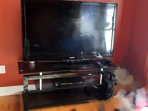SAMSUNG TV 55 inch with TV stand