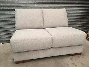 Plush Architect Armless Loveseat - as new condition Strathfield Strathfield Area Preview
