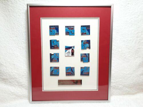 Coca-Cola Torino 2006 XX Winter Olympics - Framed Collectors Edition Pin Set