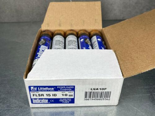 (Box of 10) Littelfuse FLSR15 ID Fuse Indicator 15A 600V RK5 FRS-R-15