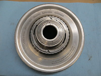 Used Jacobs Spindle Nose Lathe Chuck Model 91-a6 Serial G2520 381