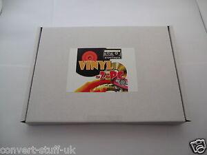 Copy Convert Transfer Vinyl LP, Audio Cassettes, Tapes & Minidiscs to PC CD MP3