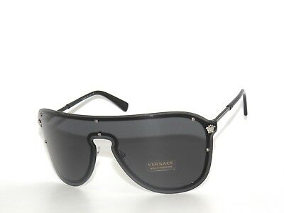 VERSACE VE2180 2180 SILVER/GRAY 1000/87 SUNGLASSES
