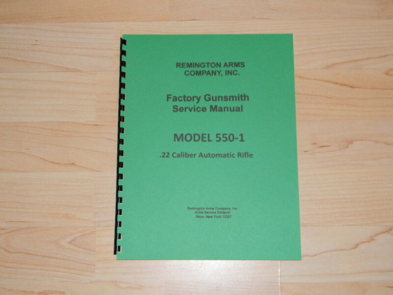 Remington 550-1 Field Service Manual - 10 Pages - #R106