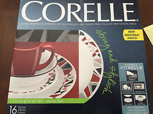 Brand new , Never opened Corelle 16 Pcs set