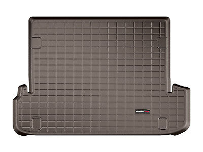 WeatherTech Cargo Liner Trunk Mat for Lexus GX460 w/ Dual Zone 2010-2018 Cocoa