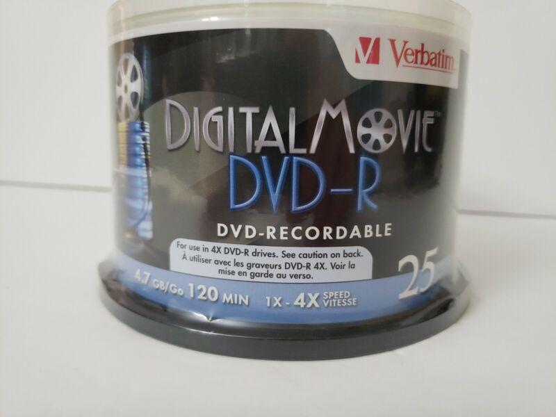 VERBATIM CORPORATION 94866 25PK DVD-R 8X 4.7GB