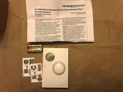 JCI FX-WRZTTB00-0 FX�Wireless mesh zone sensor-transmitter Temp Adj,F/C,Display