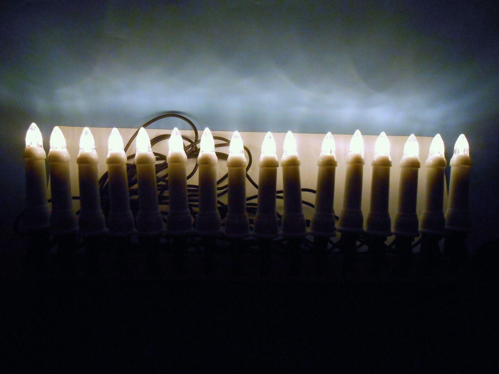 16 er led weihnachtsbaum beleuchtung baumkerzen innen. Black Bedroom Furniture Sets. Home Design Ideas