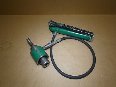 Greenlee 746 767 Hydraulic Knockout Tools